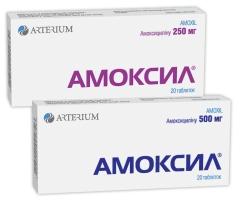 АМОКСИЛ®/АМОКСИЛ® ДТ (AMOXIL®/AMOXIL® DT)