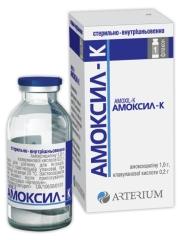 АМОКСИЛ-К (AMOXIL-K)