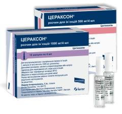 ЦЕРАКСОН® раствор для инъекций (CERAXON® solution for injections)
