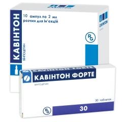 КАВИНТОН раствор для инфузий (CAVINTON solution for infusion)