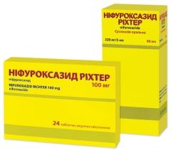 НИФУРОКСАЗИД РИХТЕР (NIFUROXAZIDUM RICHTER)