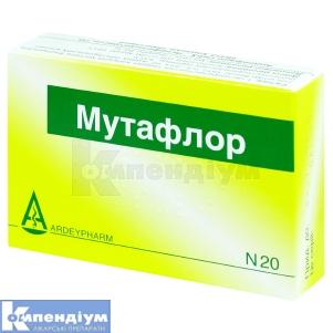 МУТАФЛОР капсули