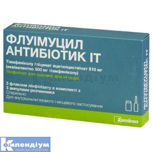 Флуімуцил Антибіотик ІТ