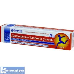 Диклофенак-Здоров'я ультра
