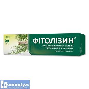 Фітолізин інструкція із застосування
