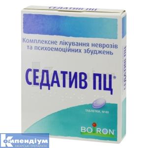 СЕДАТИВ ПЦ інструкція із застосування