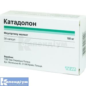 КАТАДОЛОН / КАТАДОЛОН РЕТАРД інструкція із застосування