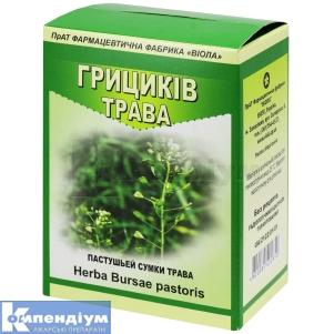 Грициків трава інструкція із застосування