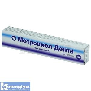 Метровіол Дента інструкція із застосування