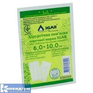 Лейкопластир бактерицидний Ігар інструкція із застосування