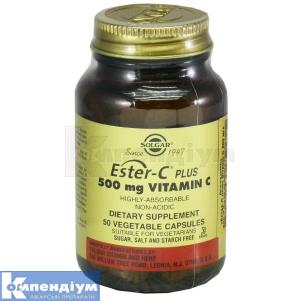 Эстер-С плюс витамин С, Солгар Вітамін енд Херб
