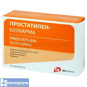 Простатилен-Біофарма інструкція із застосування
