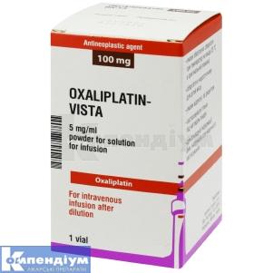 Оксаліплатин