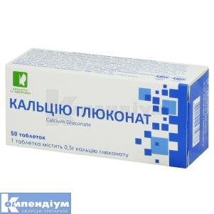 Кальцію глюконат