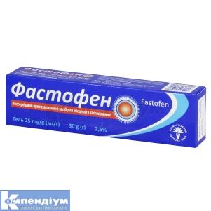 Фастофен інструкція із застосування
