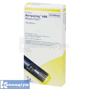 Актрапід HM флекспен інструкція із застосування
