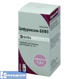 ЦЕФУРОКСИМ-БХФЗ інструкція із застосування
