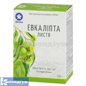 Евкаліпту листя інструкція із застосування