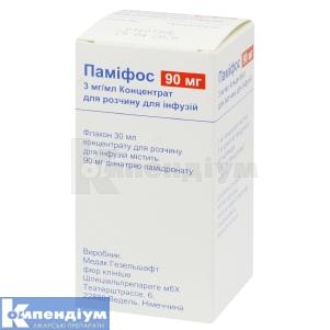 ПАМІФОС концентрат для розчину для інфузій, Medac