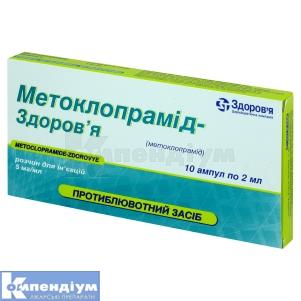 Метоклопрамід-Здоров'Я інструкція із застосування