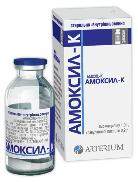 АМОКСИЛ-К інструкція із застосування