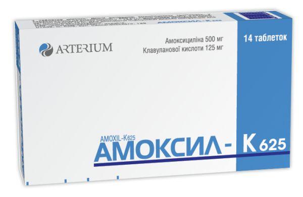 АМОКСИЛ-К 625 інструкція із застосування