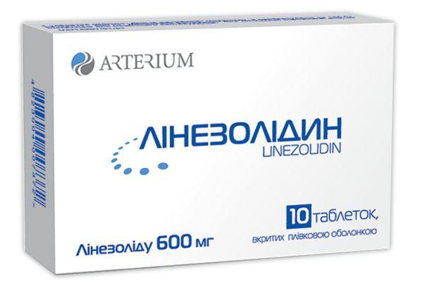 ЛІНЕЗОЛІДИН таблетки інструкція із застосування