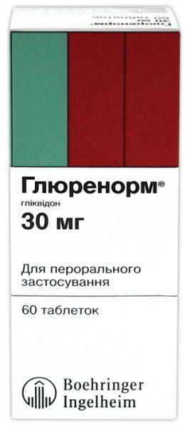 ГЛЮРЕНОРМ інструкція із застосування