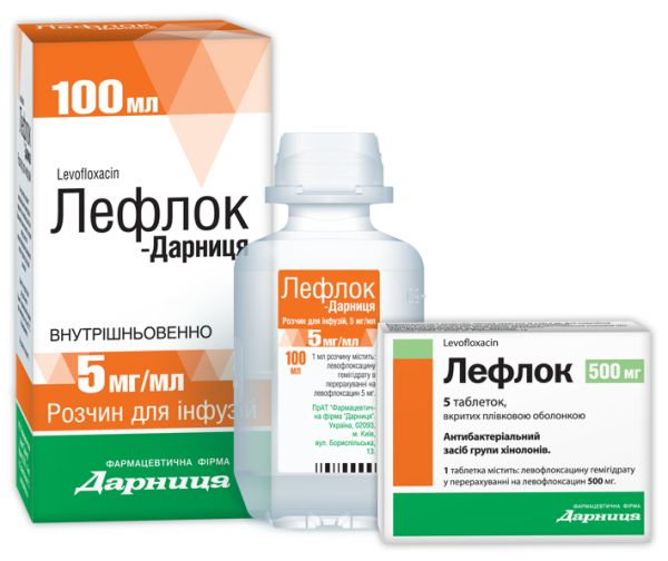 ЛЕФЛОК / ЛЕФЛОК-ДАРНИЦА інструкція із застосування