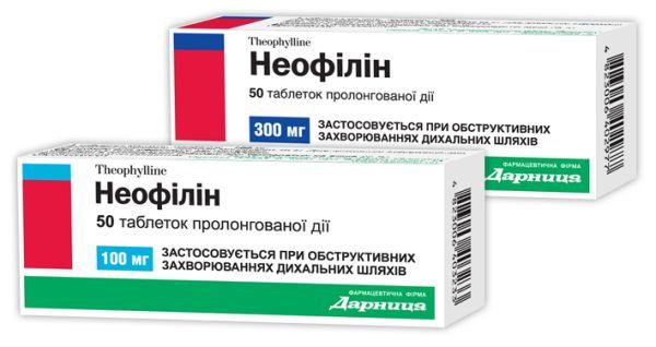 Неофілін інструкція із застосування