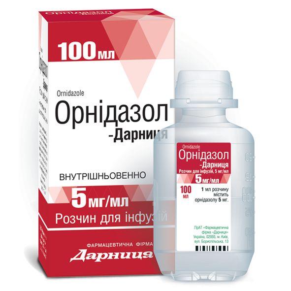 ОРНІДАЗОЛ-ДАРНИЦА інструкція із застосування
