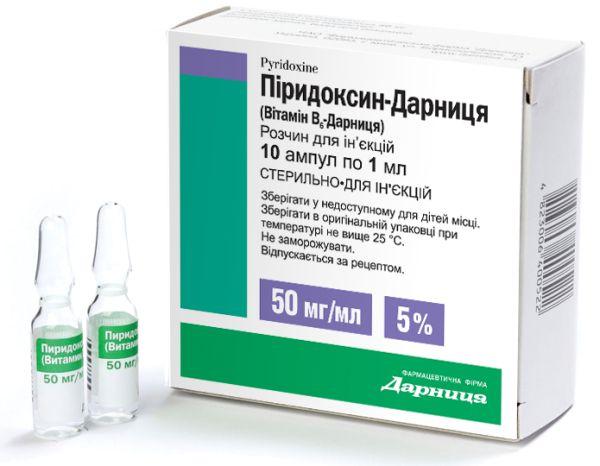 Піридоксин інструкція із застосування