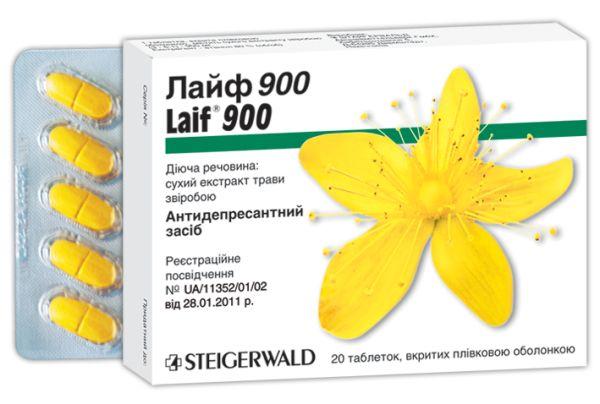 ЛАЙФ 600 / ЛАЙФ 900 таблетки