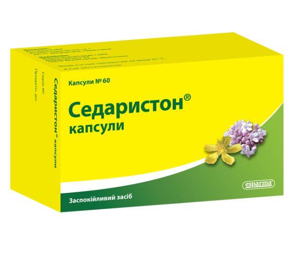 Седаристон капсули