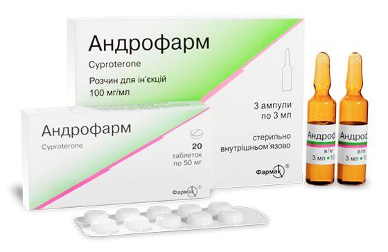 АНДРОФАРМ таблетки інструкція із застосування
