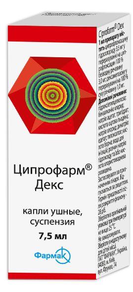 ЦИПРОФАРМ ДЕКС інструкція із застосування