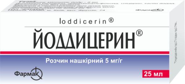 Йоддицерин інструкція із застосування