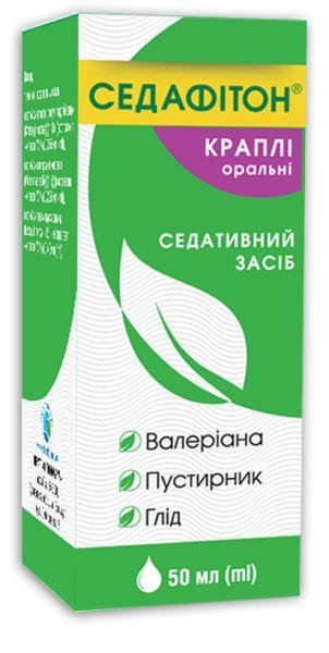 Седафітон краплі оральні інструкція із застосування