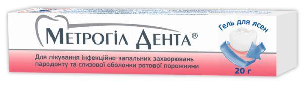 МЕТРОГІЛ ДЕНТА інструкція із застосування