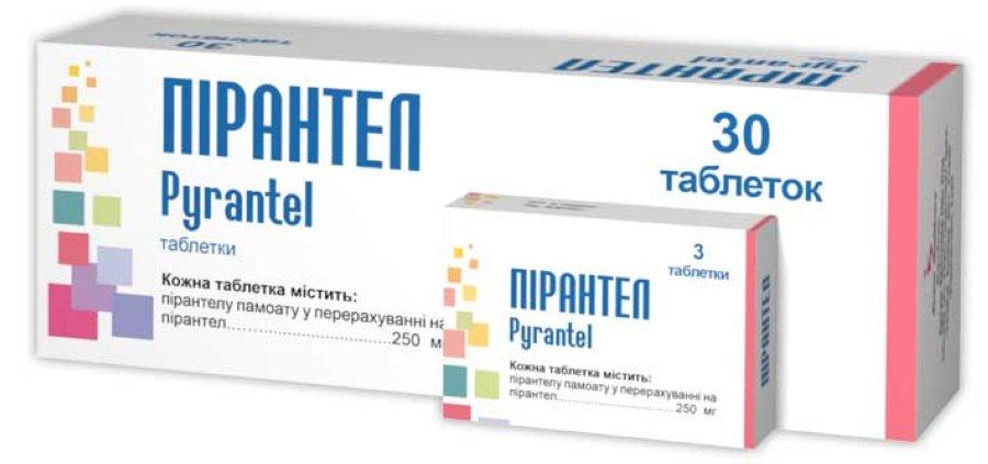 ПІРАНТЕЛ таблетки інструкція із застосування