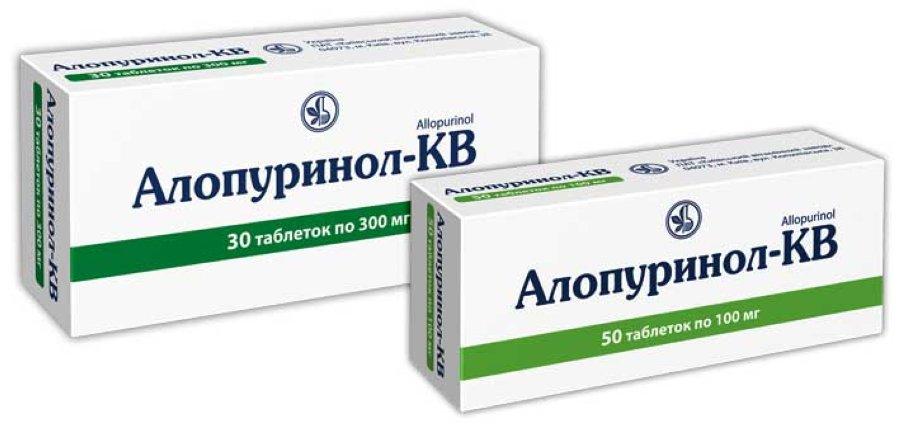 АЛОПУРИНОЛ-КВ