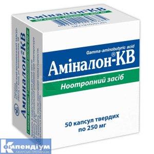 АМІНАЛОН-КВ інструкція із застосування