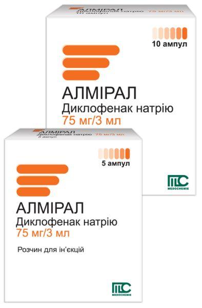 Алмірал інструкція із застосування