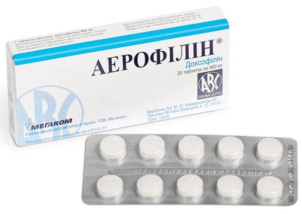 Аерофілін інструкція із застосування
