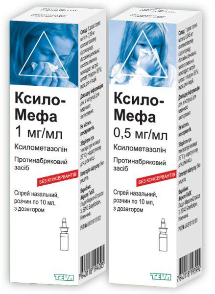 КСИЛО-МЕФА інструкція із застосування