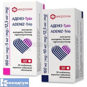 Аденіз-Тріо інструкція із застосування