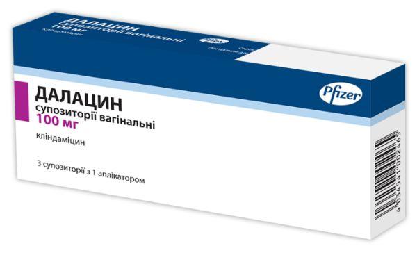 Далацин інструкція із застосування