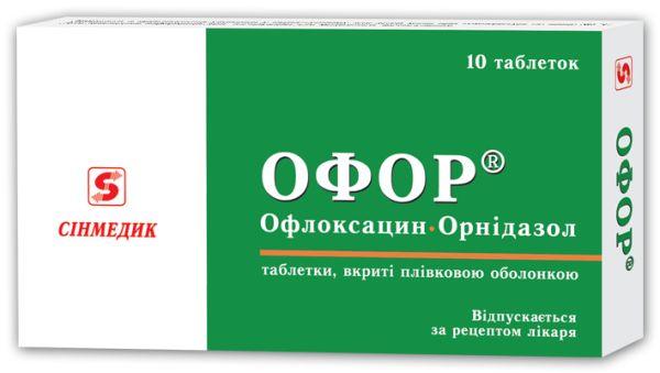 ОФОР інструкція із застосування