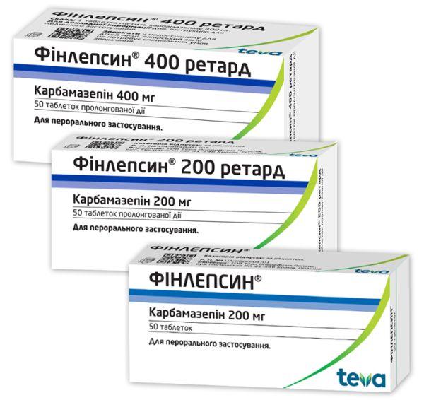 Фінлепсин Ретард інструкція із застосування
