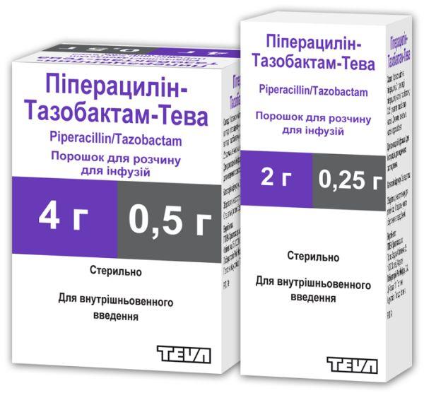 Піперацилін-Тазобактам-Тева інструкція із застосування